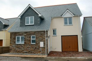 Part of a new development at Tintagel built by T W McCarten & Son.